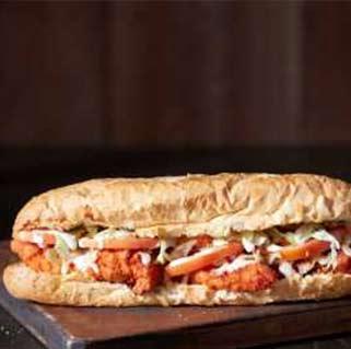 Jumbo Grill Buffalo chicken hot subs