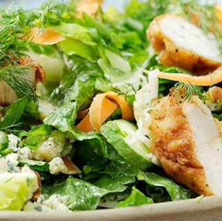 Jumbo Garden Salad with Chciken